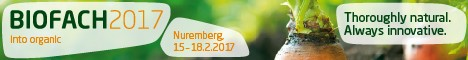 We will be attending Biofach 2017