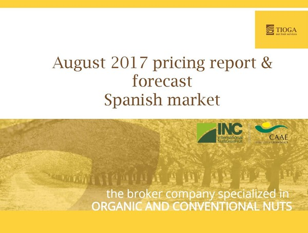 August 2017 Spanish market report