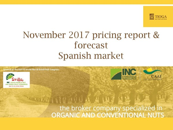 November 2017 Spanish market report