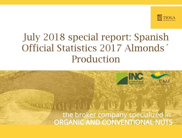 Special report: Spanish official statistics 2017 almonds´production