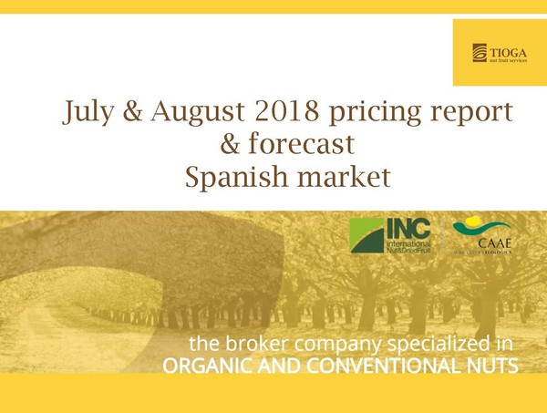 July and August 2018 Spanish market report