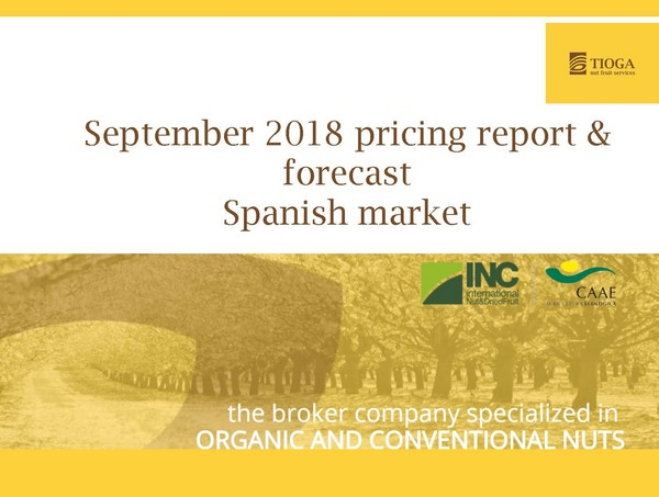 September 2018 Spanish market report