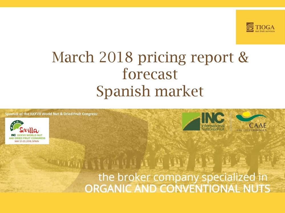 March 2018 Spanish Market Report